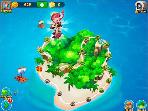 Solitaire Tripeaks - Lost Worlds Adventure  screenshots 6