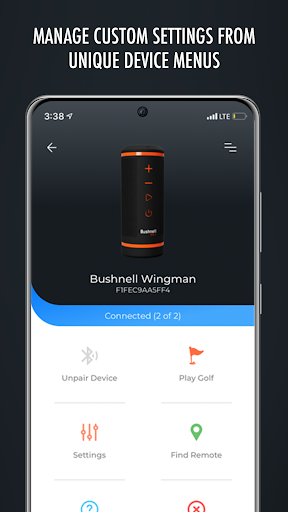 bushnell golf legacy products screenshot 2
