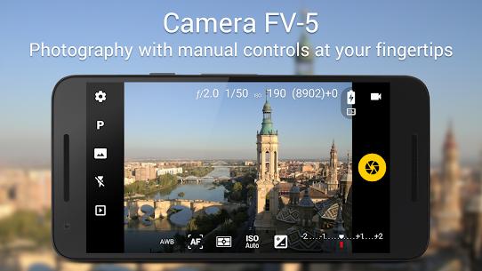 Baixar Camera FV-5 Apk Última Versão – {Atualizado Em 2021} 1