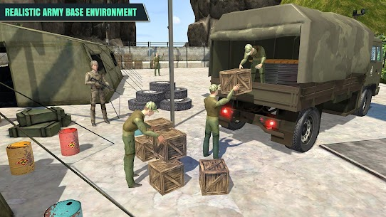 Army Truck Driver : Offroad 1.5 APK + MOD Download Free 2