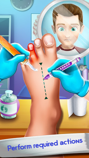 Foot Surgery Doctor Care:Free Offline Doctor Games 1.4.4 screenshots 2