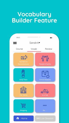 Learn Hindi, Sanskrit, Kannada, Tamil and more 4.0.5 screenshots 3