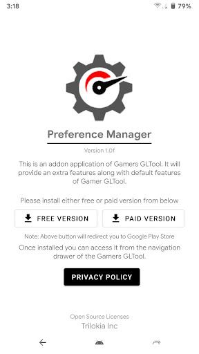 Preference Manager *ROOT(Addon for Gamers GLTool) 1.1 Screenshots 2