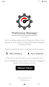 Preference Manager *ROOT(Addon for Gamers GLTool) 2
