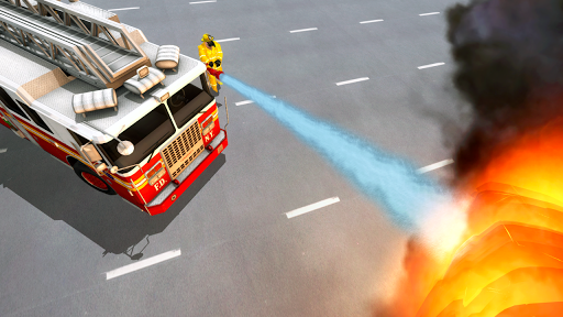 Fire Truck Driving Simulator 1.34 Screenshots 7