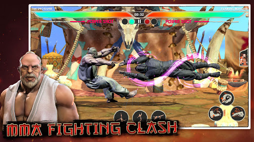 Kung Fu Madness Street Battle Attack Fighting Game apkpoly screenshots 5