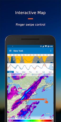 Flowx: Weather Map Forecast 3.330 Screenshots 1