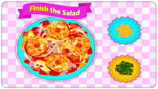 Fried Veg Chicken Salad - Cooking Game  screenshots 8