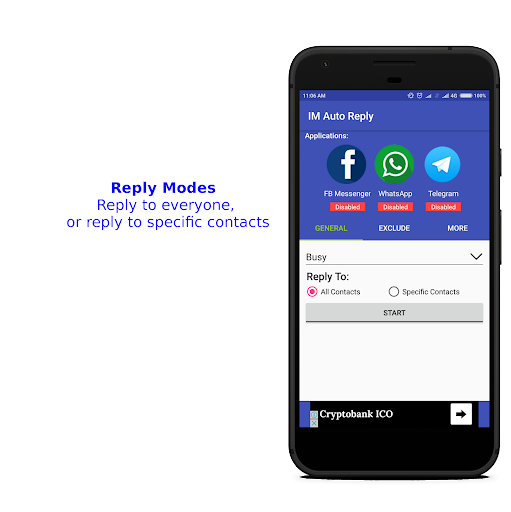 IM Auto Reply 8.9.3 Screenshots 4