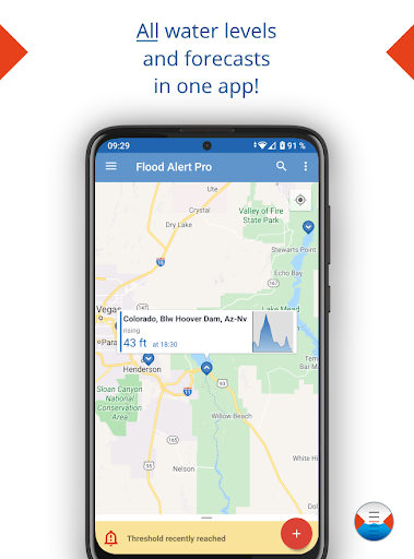Flood Alert - HydroSOS  screenshots 1