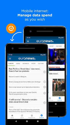 Euronews: Daily breaking world news & Live TV 5.4.2 Screenshots 7