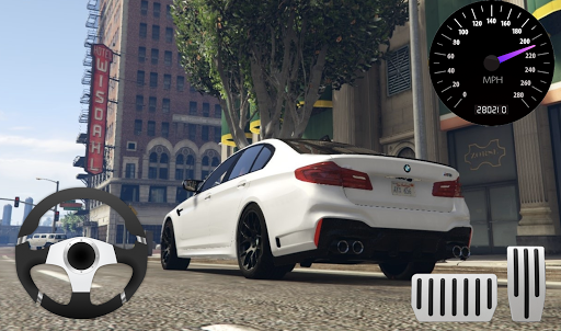 City Racer BMW M5 Parking Area 11.1 screenshots 3