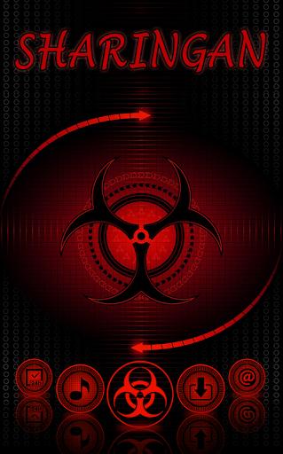 Sharingan Theme: Cool launcher Rasengan Wallpaper 4.0.11 Screenshots 2