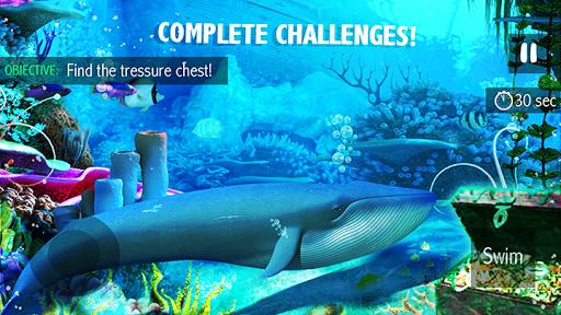 Blue Whale Simulator - Deep Ocean 1.1.5 screenshots 1