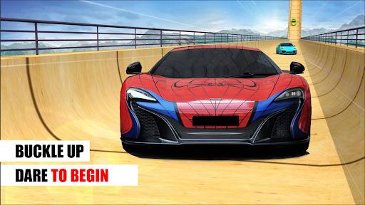 Superhero Car Stunts - Racing Car Games  screenshots 1