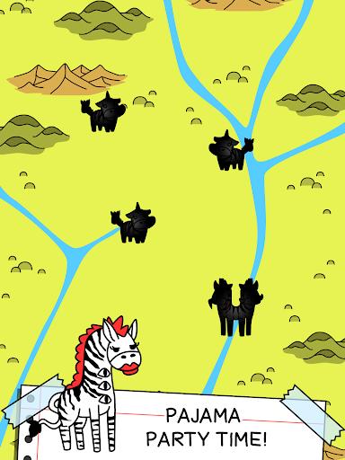 Zebra Evolution - Mutant Zebra Savanna Game screenshots 4