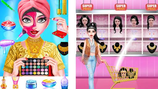 Superstar Fashion Stylist Dress up - Girl Game 1.0.8 screenshots 6