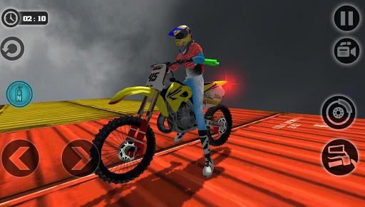 Impossible Motor Bike Tracks New Motor Bike  screenshots 2