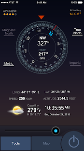 All GPS Tools Pro (map, compass, flash, weather) Screenshot