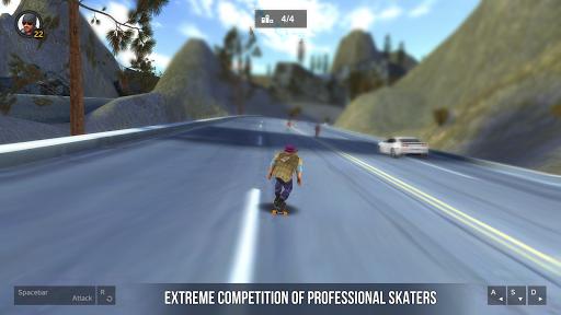 Longboard Simulator 3D - Skater Rush 1.0.0 screenshots 1