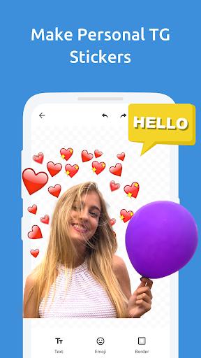 Sticker Maker for Telegram - Make Telegram Sticker screenshots 1