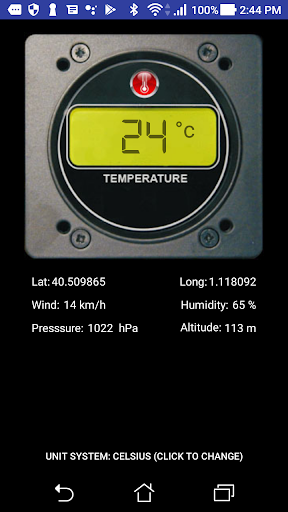 Digital Thermometer FREE  screenshots 1