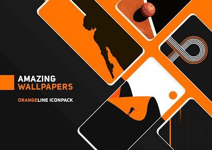 OrangeLine IconPack Pro Apk: LineX (Patched) 7