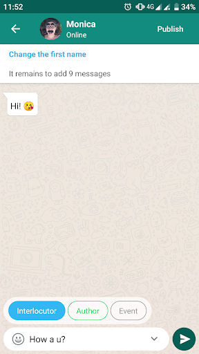 Love Story Chat u2014 virtual story messenger 1.3.9 screenshots 5