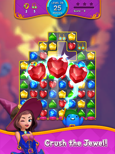 Jewel Witch - Best Funny Three Match Puzzle Game 1.8.2 screenshots 14