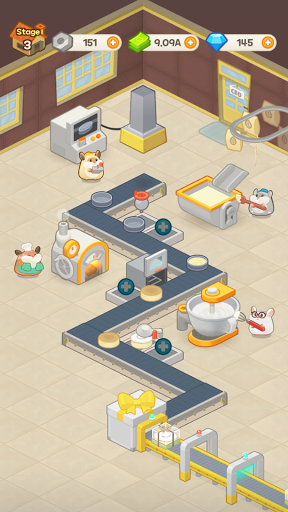 Idle Cake Tycoon - Hamster Bakery Simulator android2mod screenshots 21