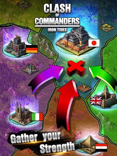 Clash of Commanders-Iron Tides 1.8.4 screenshots 8