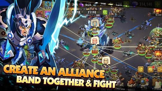 Magic Rush Heroes Mod APK Unlimited Diamond Money 1.1.309 1