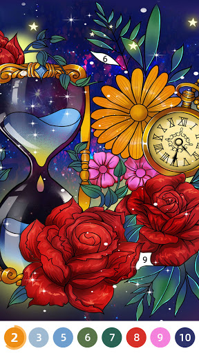 Flora Coloring: Color by Number Painting Game 1.0.10 screenshots 8