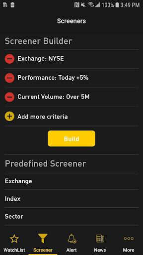Foto do NYSE Live Stock Market
