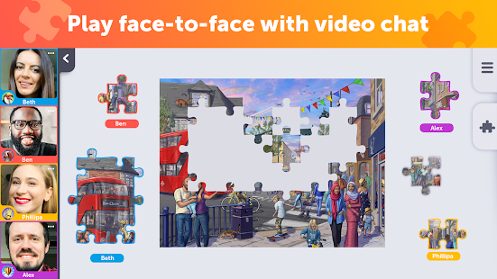 Jigsaw Video Party - play together 1.2.0 screenshots 1