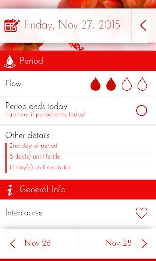 Period Tracker & Diary  Screenshots 2