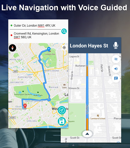 GPS Offline Navigation Route Maps & Direction  Paidproapk.com 1