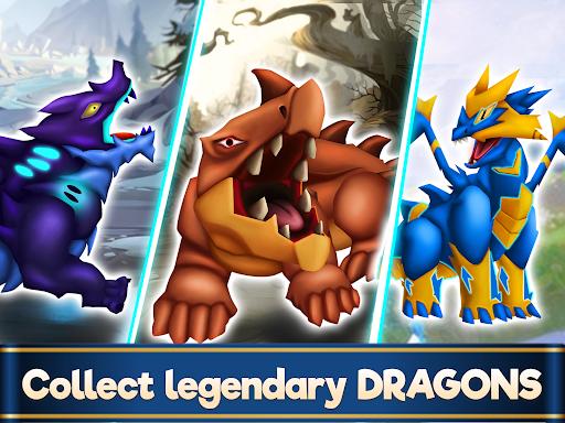 Dragon Paradise City: Breeding War Game  screenshots 11