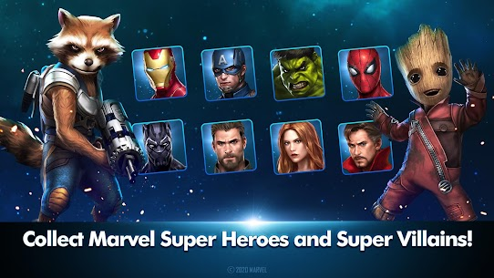 Marvel Future Fight MOD Apk [Unlimited Gold/Crystals/Money] For Android 4