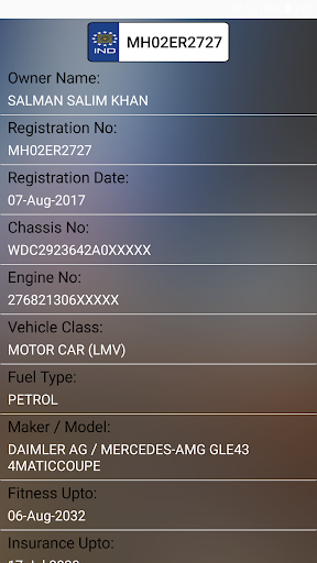 How to find Vehicle Car Owner detail from Number  screenshots 4