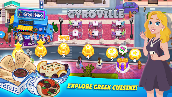 Kitchen Scramble 2: World Cook