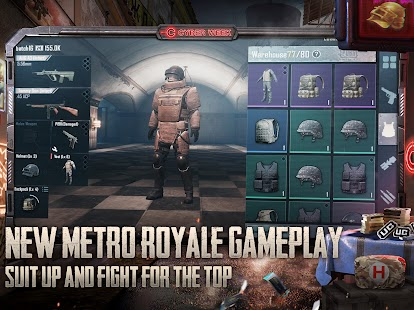 PUBG MOBILE METRO ROYALE Screenshot