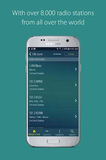 bedr pro alarm clock radio screenshot 2