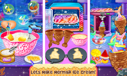 Ice Cream - Frozen Desserts Rainbow Unicorn  screenshots 1
