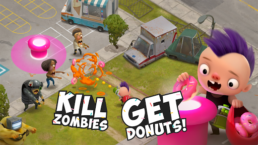 Kids vs Zombies: Brawl for Donuts screenshots 2