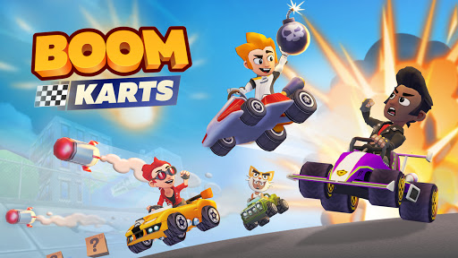 Boom Karts - Multiplayer Kart Racing  screenshots 6