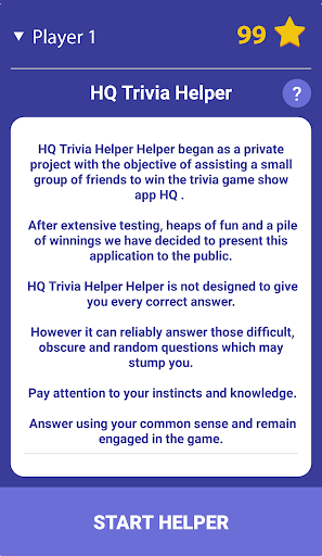 HQ Trivia Helper 1.5.0 Screenshots 1