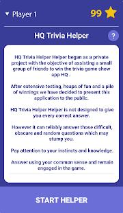 HQ Trivia Helper 1.5.0 screenshots 1