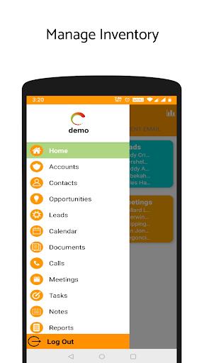 'ValCRM: SuiteCRM Mobile App'  screenshots 2