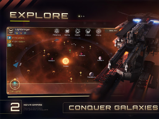 Nova Empire: Space Commander Battles in Galaxy War 2.0.32 screenshots 2